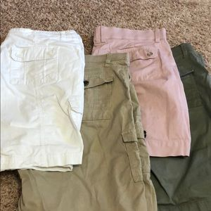 Set of 4 Lee cargo-type shorts, 12 M 🌞